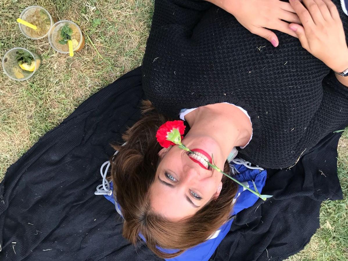 Marina feliz